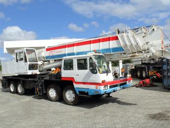 50-ton mobile crane rental in Mauritius